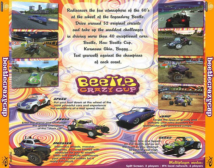 لعبه السيارات BeeTLe CRAZY المدهشه